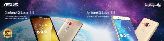 ASUS ZenFone Laser Family 640x161 - ASUS Philippines Joins Again Lazada's Biggest Online Revolution