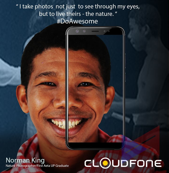 Cloudfone Norman King 1 - What's with Cloudfone these days?