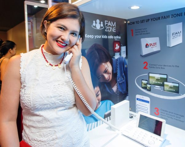 Dimples Romana 602x480 - PLDT Opens New Concept Stores in Two Major SM Malls