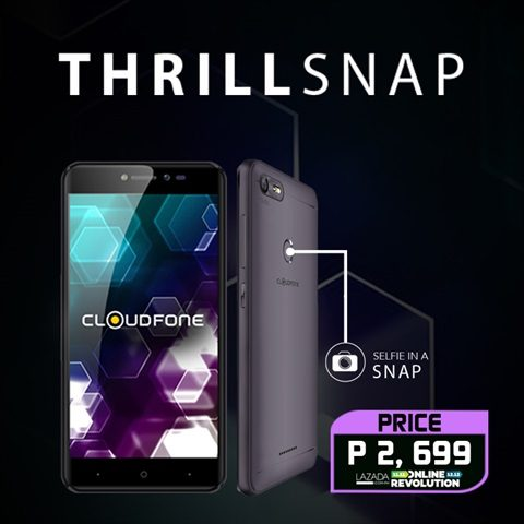 The Cloudfone Thrill Snap is a Great Companion for Get-Togethers this Christmas Season