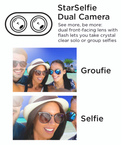 UP Selfie Dual Front Cam 700x843 399x480 - Starmobile's UP Selfie Takes The Selfie And Groufie Game To The Next Level