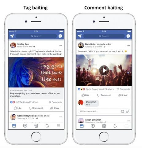 Facebook Announces New Policy that Demotes Posts with Bait Titles for Engagement