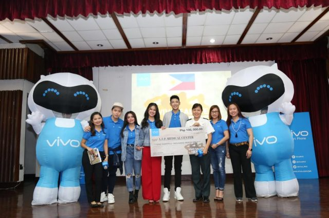 Vivo conducts special outreach to Marawi soldiers