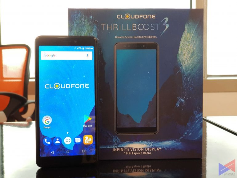 cf thrillboost3 4 770x578 - Cloudfone to Launch Two New Devices with 18:9 Displays: One Priced at Only PhP2,999!