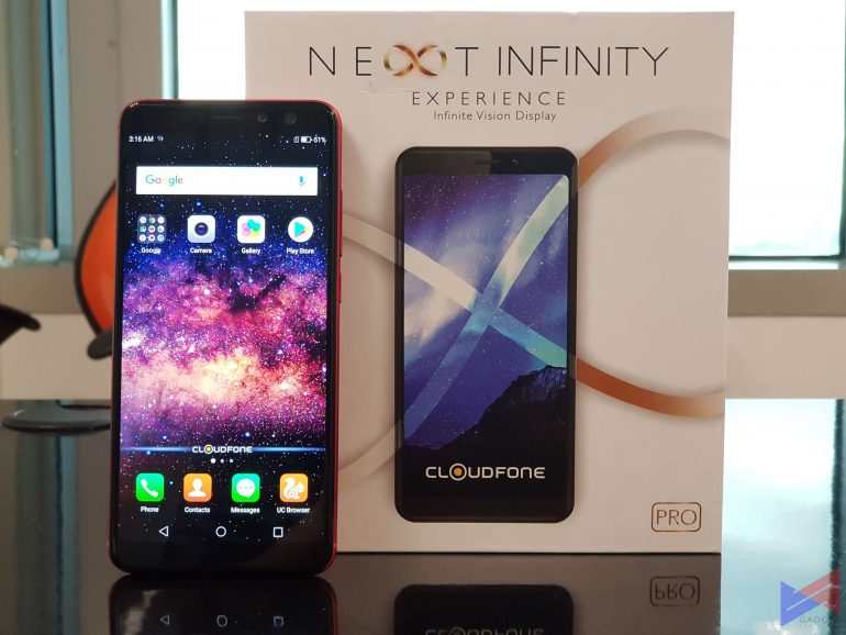 cfninfpro 4 770x578 - Cloudfone to Launch Two New Devices with 18:9 Displays: One Priced at Only PhP2,999!