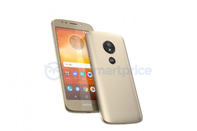 Alleged Moto E5 Image Leak Shows 16:9 Aspect Ratio, Rear Fingerprint Reader