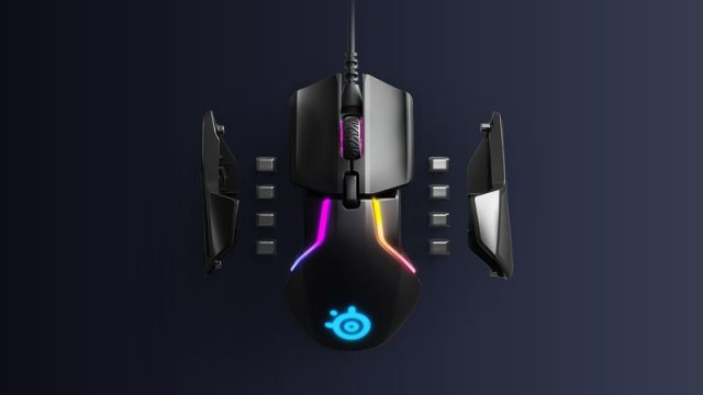rival600 top with weights  640x360 - New SteelSeries Rival 600 Gaming Mouse Tracks Your Movements Mid-Air