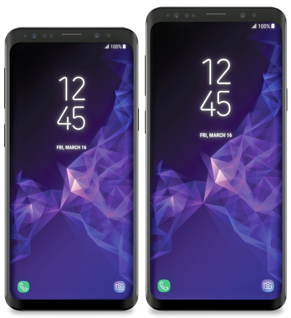 samsung galaxy s9 and s9 plus - Press images of Samsung Galaxy S9 and S9+ leaked by evleaks