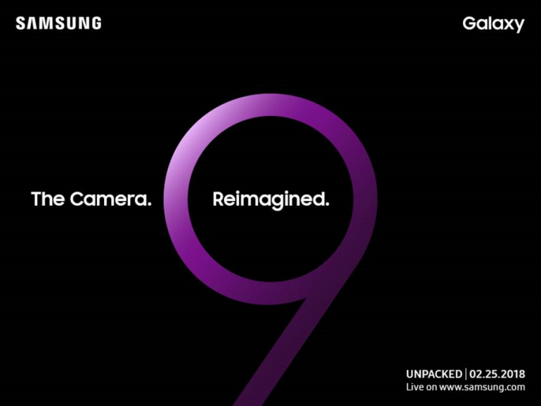 samsung galaxy s9 invite 770x578 - Press images of Samsung Galaxy S9 and S9+ leaked by evleaks
