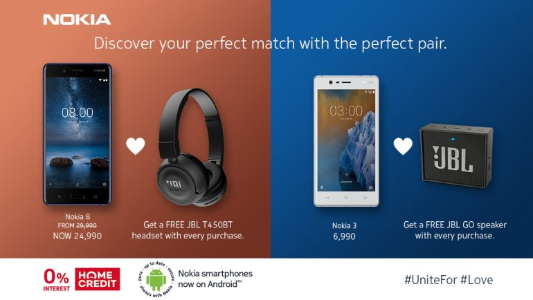 Nokia 8, Get a FREE Premium Accessory When You Buy a Nokia 8 or Nokia 3 Until March 31!, Gadget Pilipinas