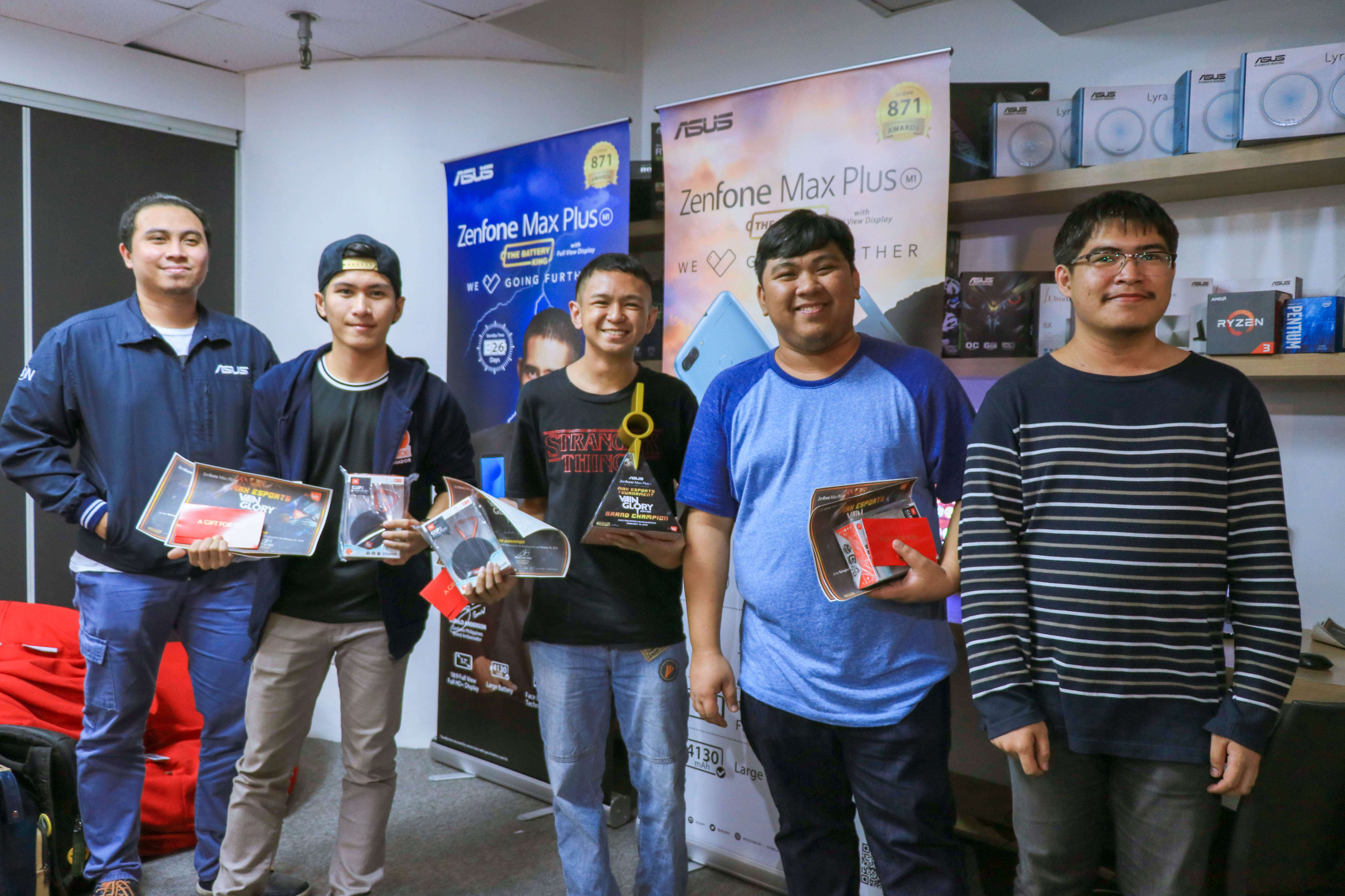 ASUS PH Holds its First Ever Vainglory Tournament, Powered