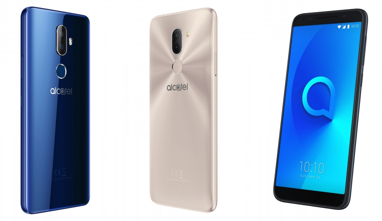 Alcatel 3 Series, TCL Unveils Affordable Alcatel 3 Series Phones with 18:9 Displays, Gadget Pilipinas