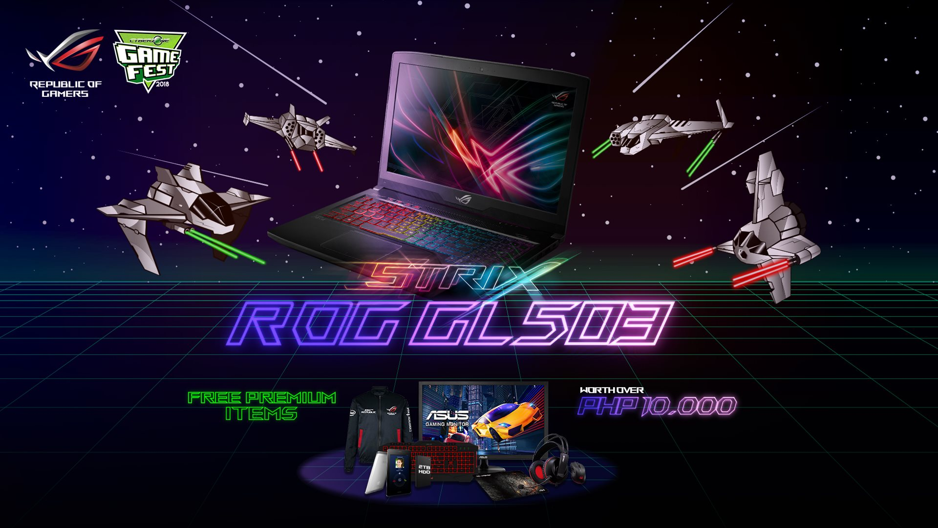 Cyberzone Game Fest, ASUS ROG Joins Cyberzone Game Fest 2018!, Gadget Pilipinas