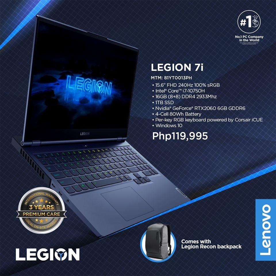 Legion 7i Review - i7 10750H RTX 2060