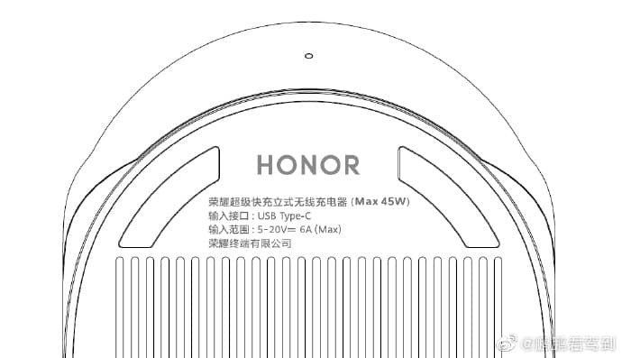 HONOR V40 Wireless Charger Schematic