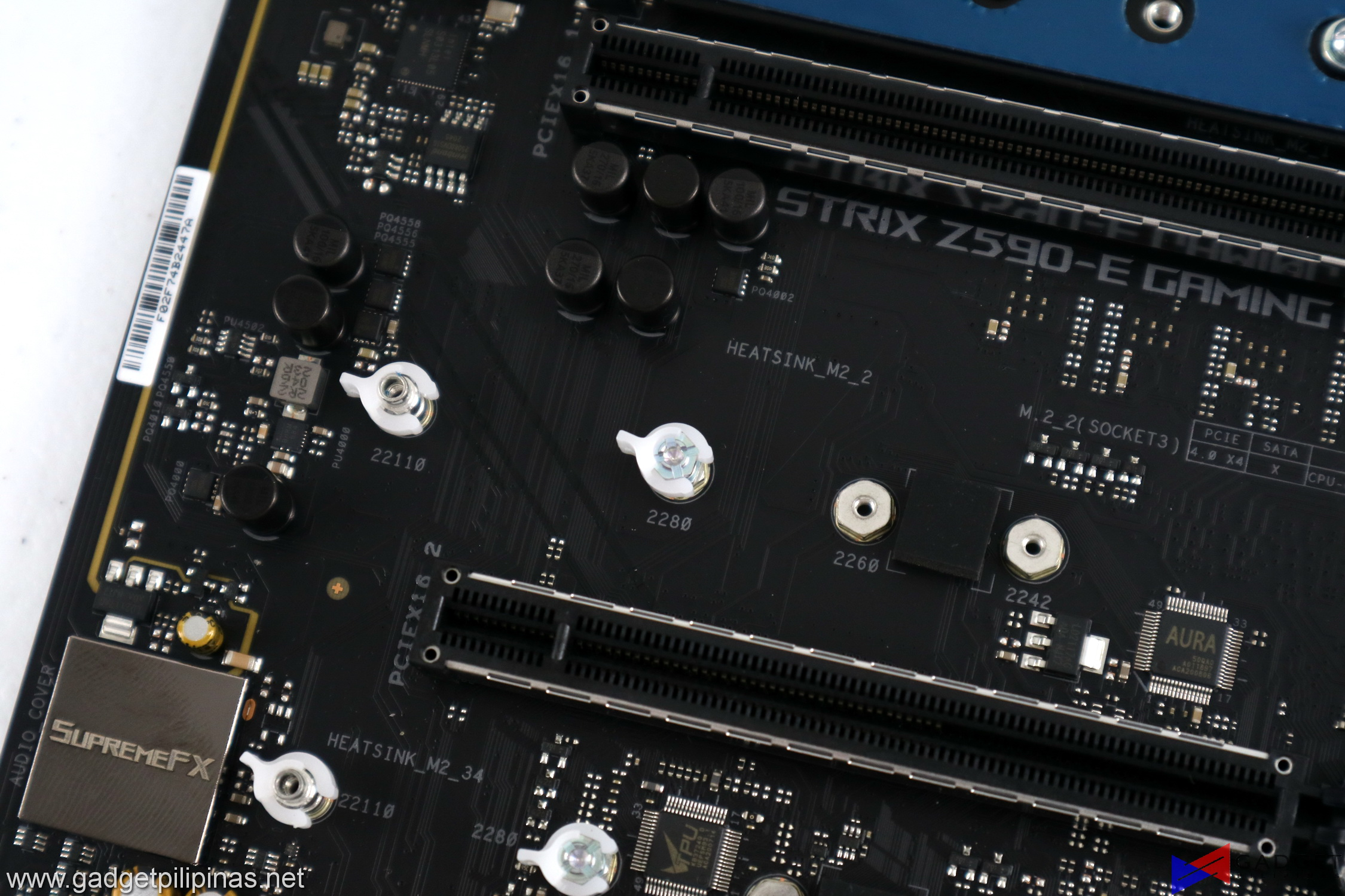ASUS ROG Strix Z590-E Gaming Motherboard Review QLatch