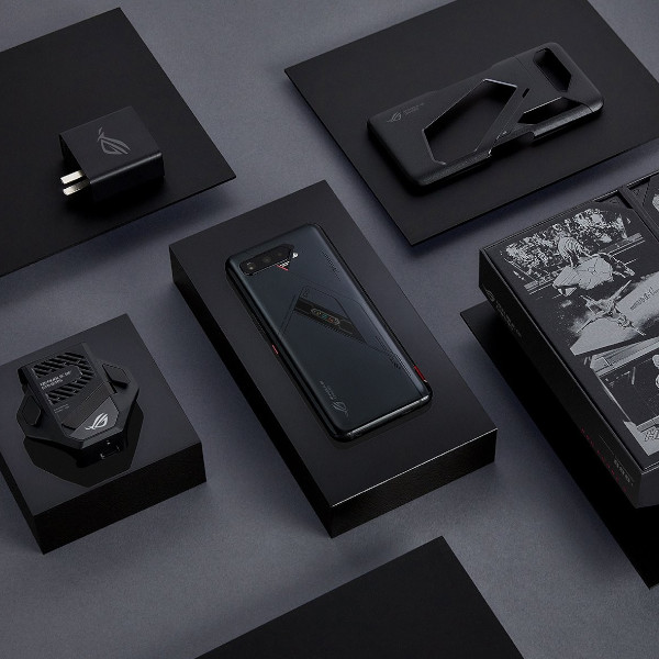 ASUS ROG Phone 5s and ROG Phone 5s Pro box inclusions