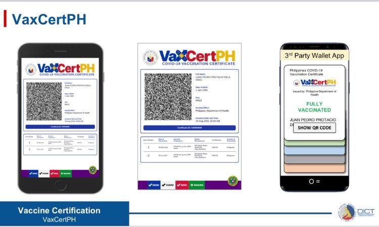 DICT VaxCertPH rollout 2