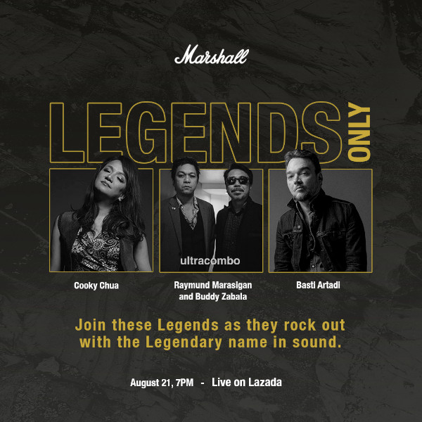 Marshall Legends Only concert