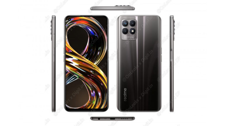 realme 8i renders and specs leak