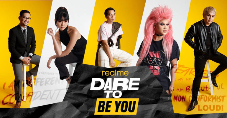 realme Dare To Be You campaign personalities