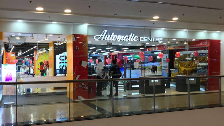 Automatic Centre closing October