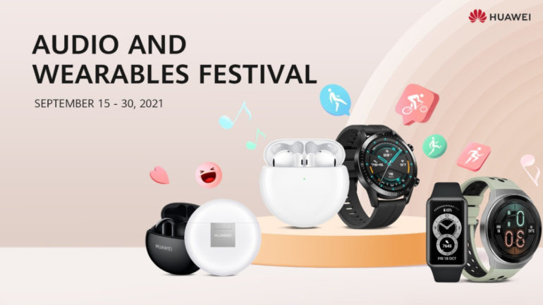 Huawei Audio and Wearables Festival
