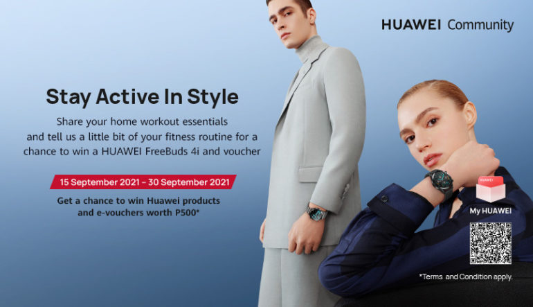 Huawei Audio and Wearables Festival - Stay Active in Style