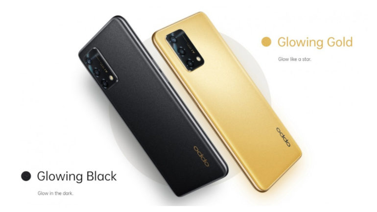 OPPO F19s colors