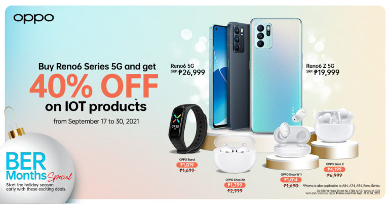 OPPO iOT Early BER-month sale