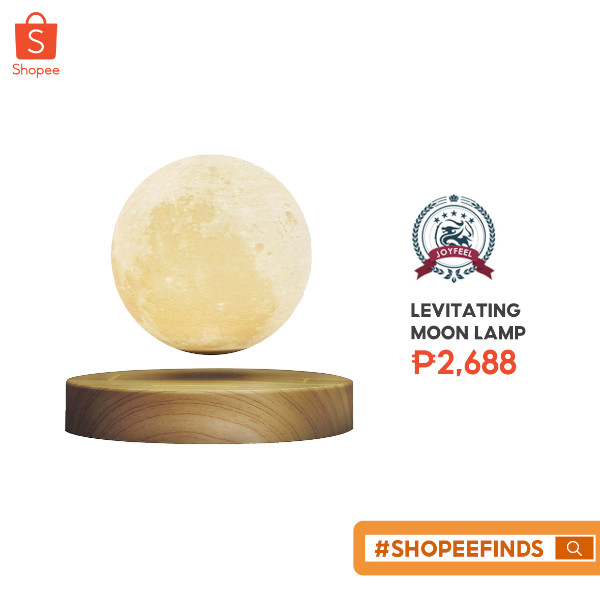 Shopee Finds - Moon Lamp