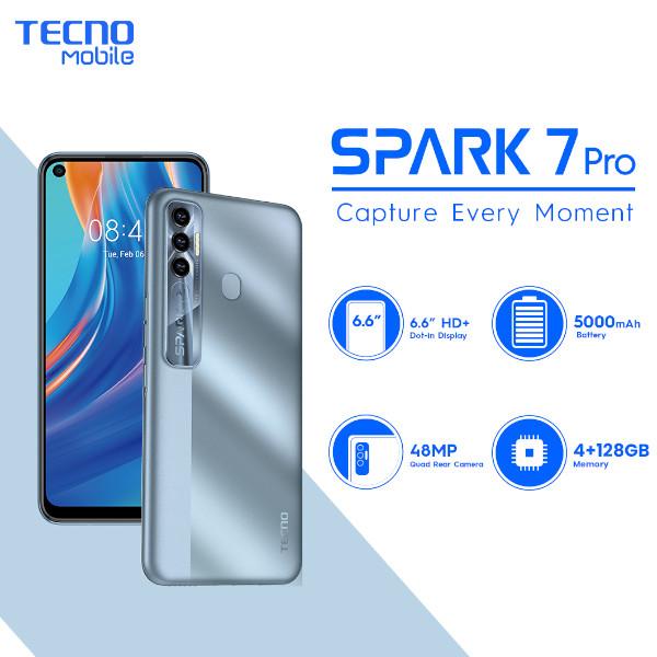 TECNO Spark 7 Pro - 9.9 DealsTECNO Spark 7 Pro - 9.9 Deals