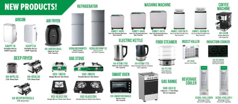 XTREME Appliances newproducts