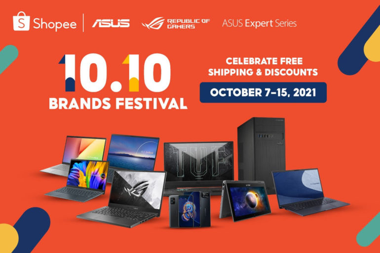 ASUS and ROG Shopee 10.10 Brands Festival