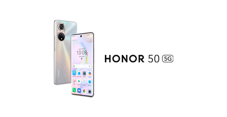 HONOR 50 - Google Mobile Services